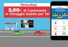 5 euro di buono carburante con TotalErg