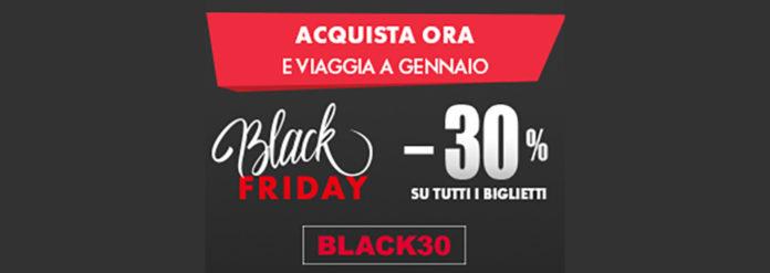 Black Friday Trenitalia